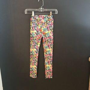 LuLaRoe kids l/xl candy leggings